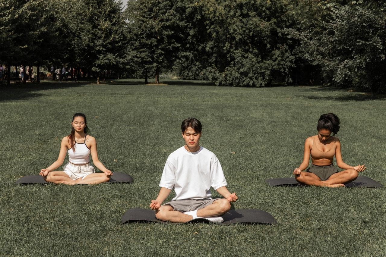 Stage meditation